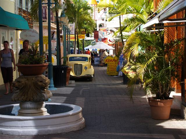 Side Street, Phillipsburg,  St. Maartens, Virgin Islands