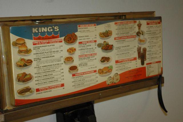 King's Menu