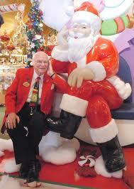 Founder Wally Bronner and St. Nick
