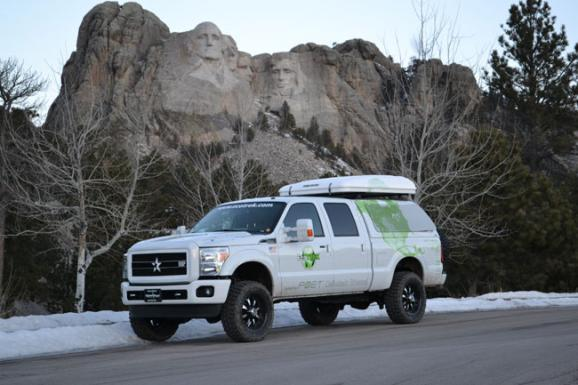 Tom Holm's 2011 Ford F150 Powered by Cellulosic Ethanol