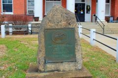 Dixie Highway Monument 4 - Marshall, NC